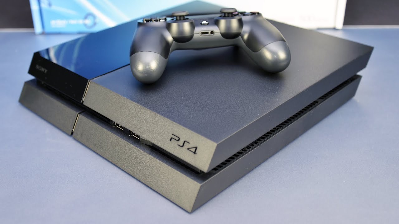 Sony ps4 unboxing youtube