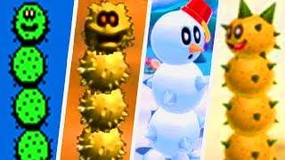 Evolution of Pokey in Super Mario Games (1988 - 2017)