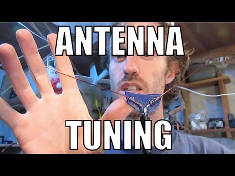 RCHacker #37 - Basic Antenna Tuning. 433Mhz Inverted Vee.