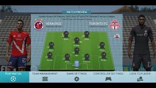 FIFA 16 PC: Veracruz vs Toronto FC, North American Tourney, Group Game Two