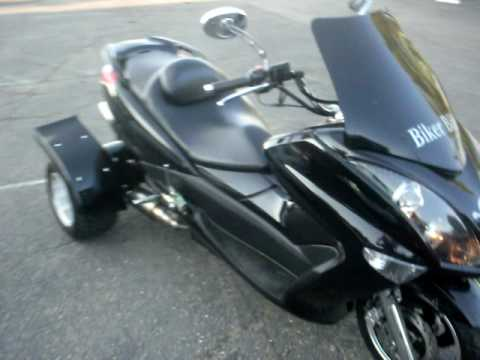 2009 scooter / 3 wheeler / Tricycle / Trike /  Moped / Scooter. 150 cc with REVERSE