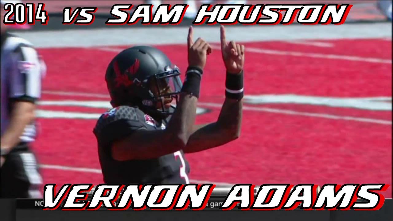 Vernon Adams Jr. vs Sam Houston State (2014)