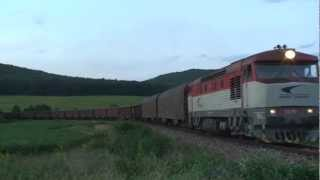 Railways of Slovakia 2012 Part 3 - Grumpy Spectacular