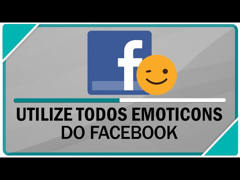 Como utilizar os emoticons do WhatsApp no facebook