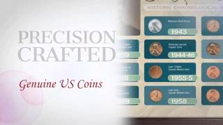 The Lincoln Penny Historical Chronological Highlights - Framed -  americancointreasures.com