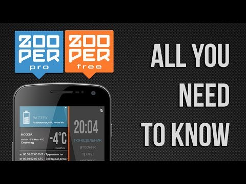 Zooper Widget APK Cover
