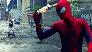 Spider-Man vs Rhino - The Amazing Spider-Man 2 (2014) Movie CLIP HD