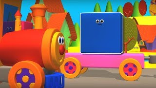 Ben The Train | Learn Colors | Ben Meets The Colors | Nursery Rhymes