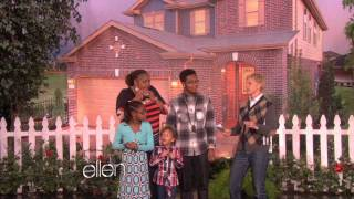 KB Home is building a home on the Ellen Show!