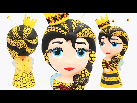 FROZEN ELSA HONEY BEE QUEEN Princess Bee Hive Dress Paint Your Own Makeover How to