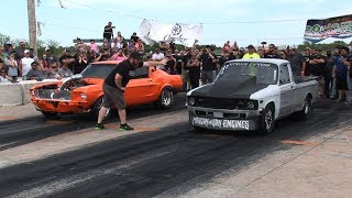 Small Tire Legal Street Racing - Coffeyville Street Drags