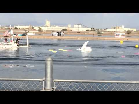 Problem Child Top Fuel Hydro Crash Nov 2 2013 ( slow motion )