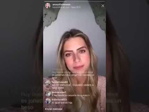 Ana Sofía Henao, fue víctima de una trolleada en VIVO (Instagram)
