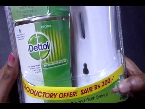 review of No - Touch hand wash system by DETTOL