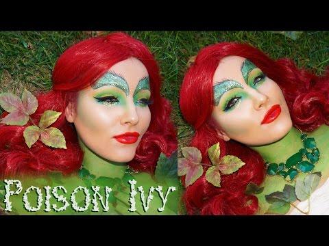 Poison Ivy Halloween Makeup Tutorial video