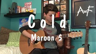 Cold  - Maroon 5 ft. Future - Cover Fingerstyle Guitar Solo by Andrew Foy (The Best Guitar Player)