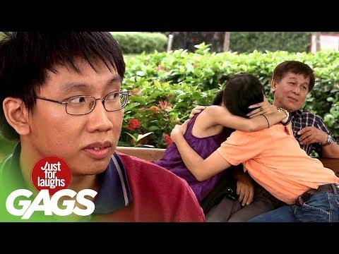 Most Awkward Third Wheel Prank - JFL Gags Asia Edition