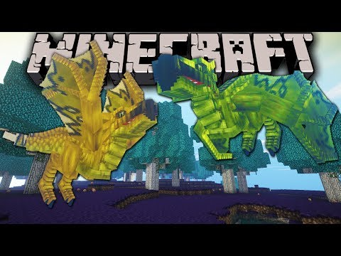 Minecraft: Zoo Keeper - Wyvern Lair - Ep. 10 Dragon Mounts, Mo' Creatures, Shaders Mod