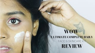 WOW ULTIMATE COMPLETE DAILY FACE & SKINCARE KIT (REVIEW)