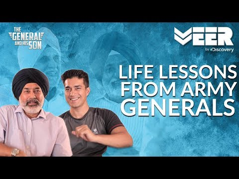 Life Lessons from Indian Army Generals  | The General And His Son Episode 2 | Veer By Discovery