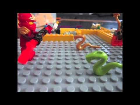 lego ninjago: 3pic battle