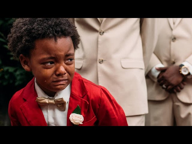 Boy, 5, Cries Tears of Joy Watching Mom Walk Down the Aisle at Wedding