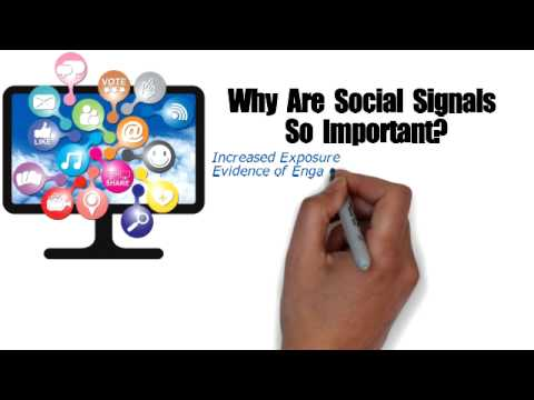 Buy Social Signals What Is A Social Signal?