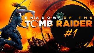 "Shadow of the Tomb Raider PS4 Gameplay Walkthrough - Part 1 ""Hunter's Moon"" (Let's Play)"