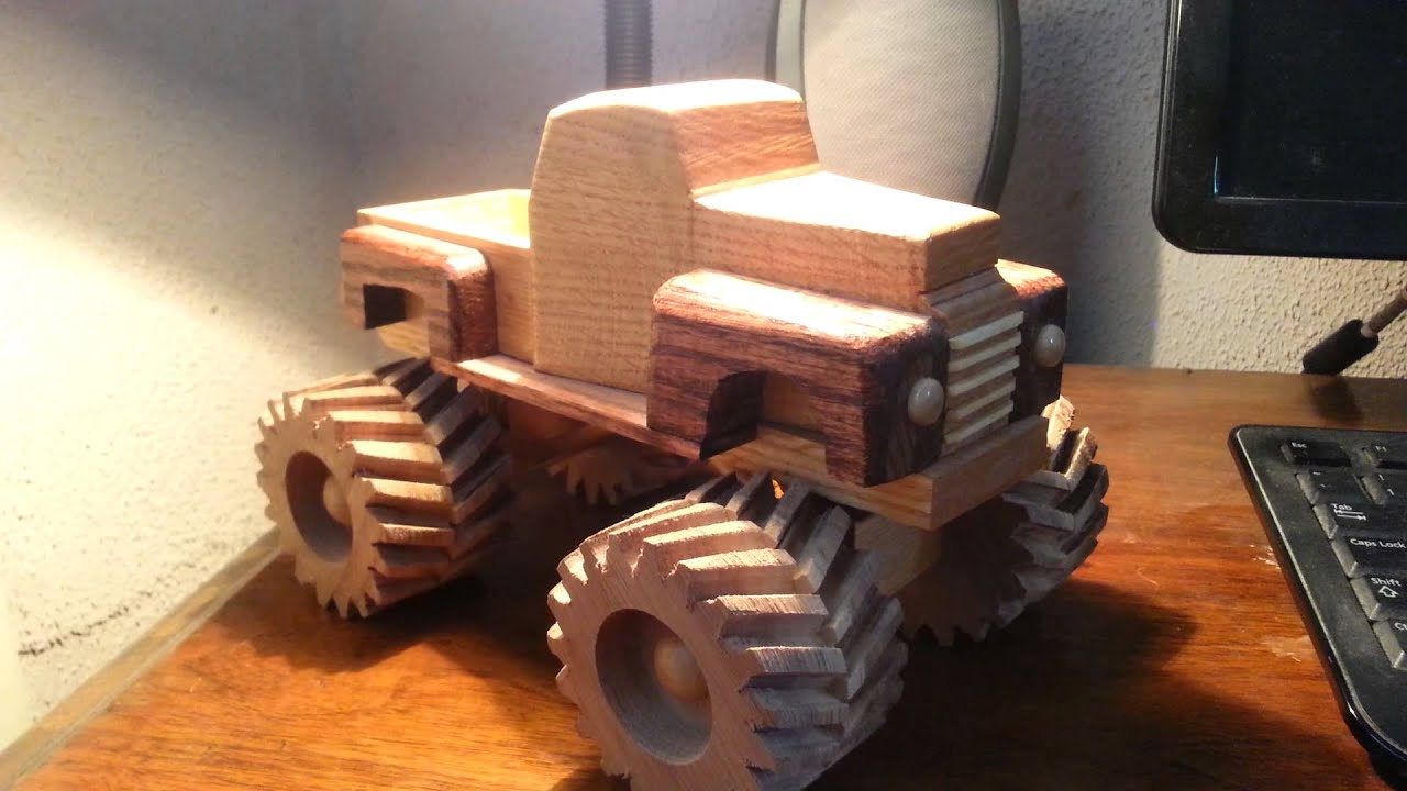 Wooden Toy Monster Trucks Wooden Toy 1948 Ford Monster