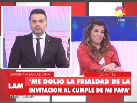 Diego Jr. disparó contra las Maradona antes de regresar a Italia: la respuesta de Gianinna