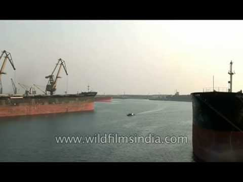 Paradeep Port -  Largest port of India's east coast