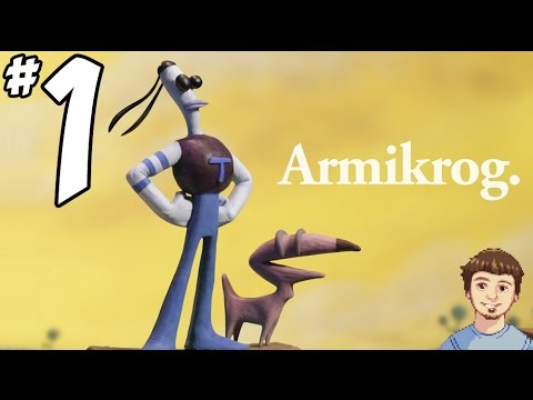 Armikrog Gameplay Walkthrough - PART 1 - This Game Is Claymazing + GIVEAWAY!!!!
