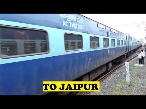 WAP7 23 Coach Coimbatore Jaipur Leaves Chennai
