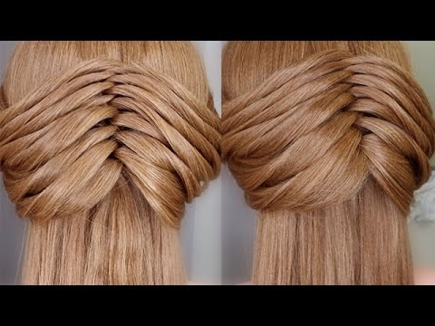 Faux Twisting Braid Hair Tutorial