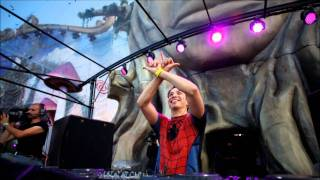 Another day in the life of a Tomorrowland mainstage... (HD)