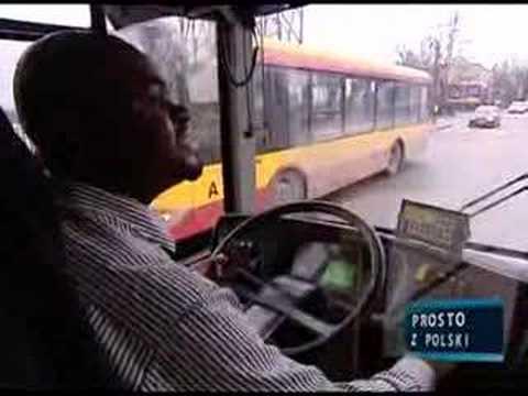 Pierwszy Czarnoskóry Kierowca Autobusu W Warszawie