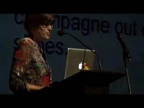 Seminario Transmedia Digital+  Erica Hargreave (Ahimsa Media), Bogotá, agosto 2012