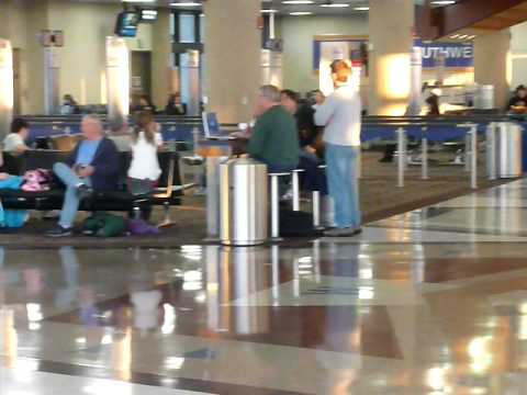 Terminal 4 at Sky Harbor Airport in Phoenix, Arizona USA Video