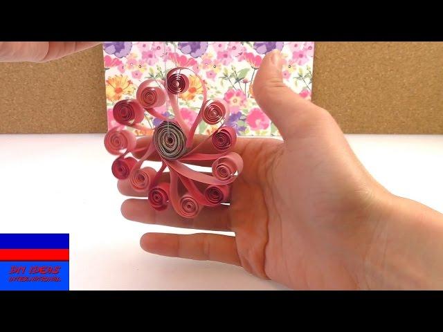Квиллинг весеннее украшение своими руками поделки из бумаги