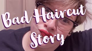 Bad Haircut Story #badhaircut #imnotcrying