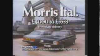 Morris Ital TV advert 1981