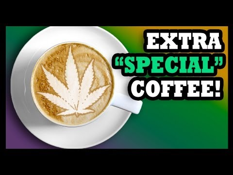 COFFEE THAT GETS YOU STONED?!? - Food Feeder