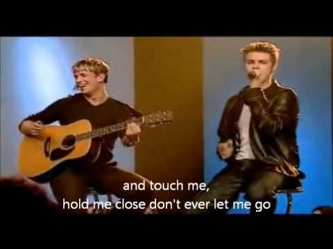 Westlife - More Than Words With Lyrics, Coast To Coast video