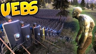 UEBS - Can We Survive A Zombie Infection? - The Super Zombie - Ultimate Epic Battle Simulator