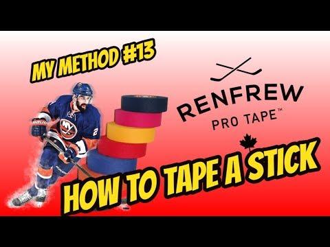 Как Обмотать Хоккейную Клюшку?
