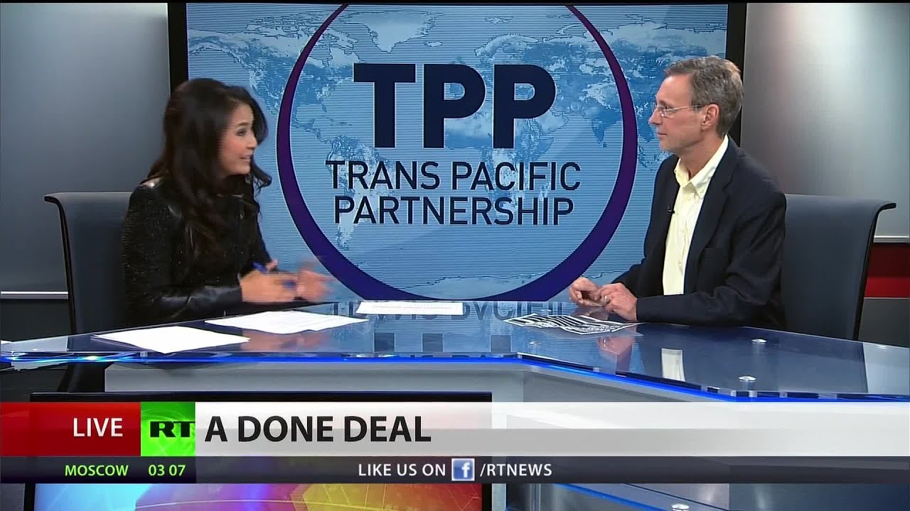 TPP could hurt consumers and medical research – Thom Hartmann