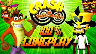 Crash Twinsanity - Complete 100% Walkthrough (All Gems/All Crystals) HD