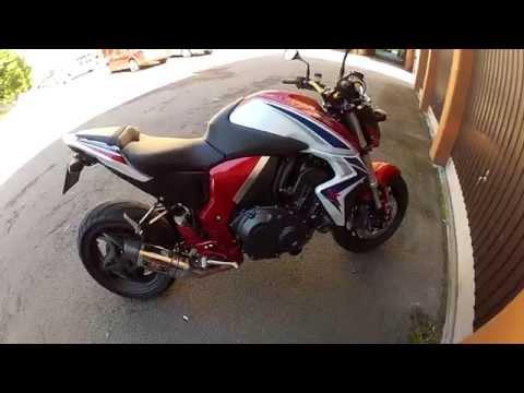 2014 Honda CB1000R with Yoshimura R77 full race-system