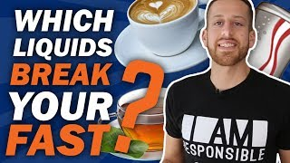 Approved Liquids with Intermittent Fasting | Official Review of 17 Liquids