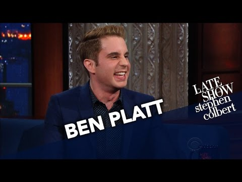 Ben Platt Made Stephen Cry For Two Hours Straight
